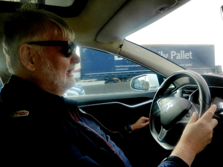 Taxi driver Trond Soemm