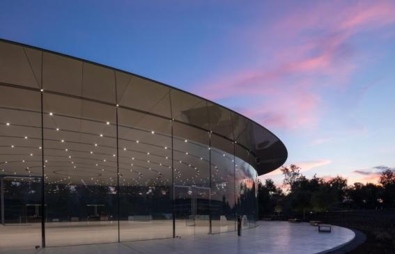 Apple's Cupertino headquarters in California 01