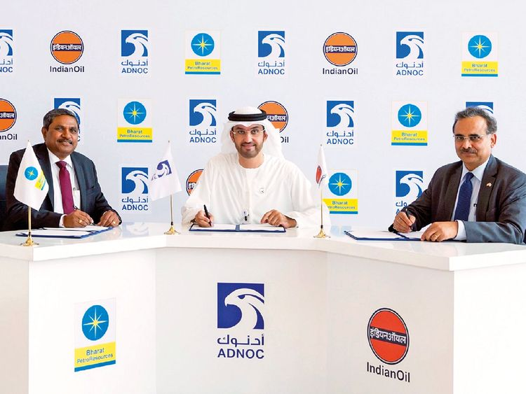 UAE's Adnoc signs Dh626 million oil, gas exploration deal