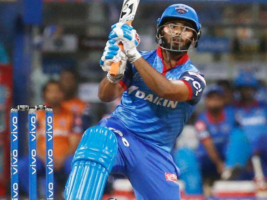 Delhi Capitals Rishabh Pant bats