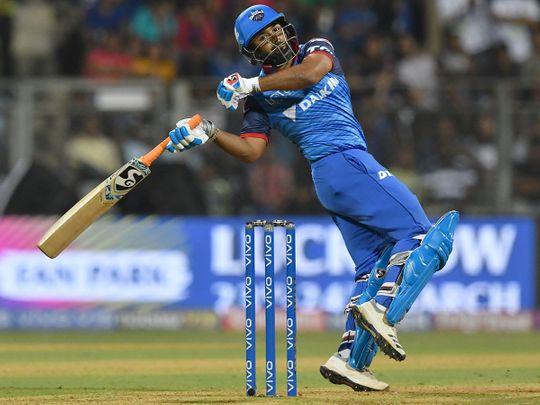 Delhi Capitals cricketer Rishabh Pant