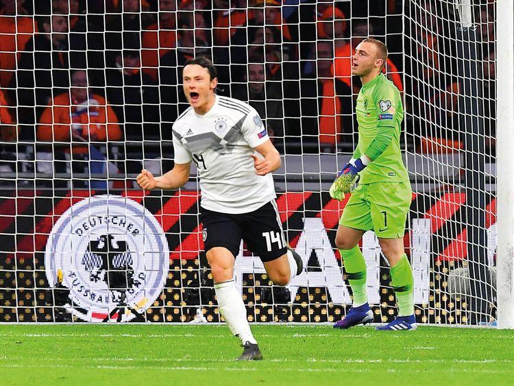 Germany's defender Nico Schulz