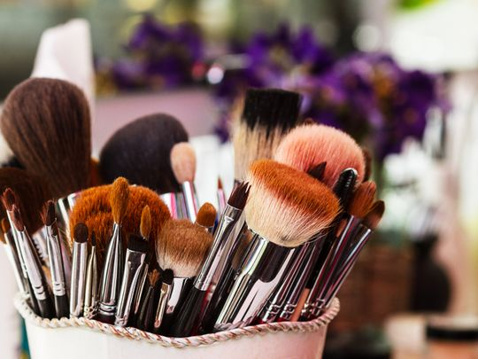 How to wash make-up brushes