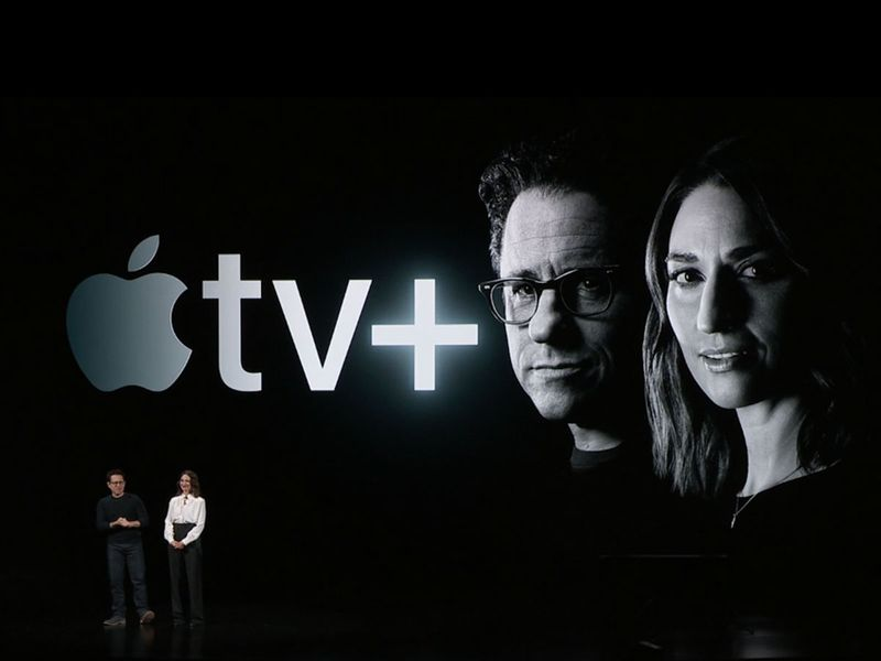JJ Abrams and Sara bareilles Apple