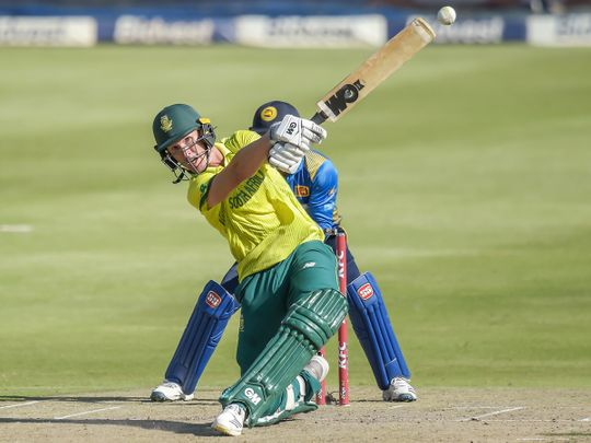 South Africa's Dwaine Pretorius