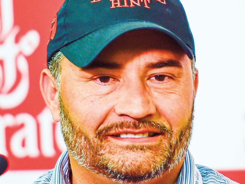 Trainer Luis Carvajal Jr