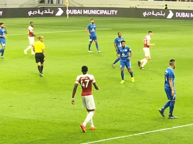 Arsenal make Dubai their home from home 3