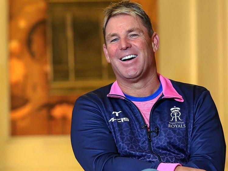 Former Australian leg-spinner Shane Warne