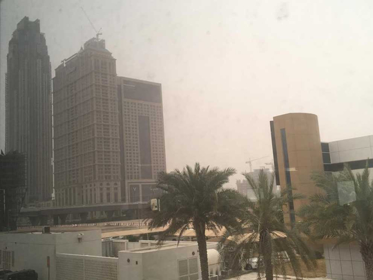 Hot and hazy dubai 012