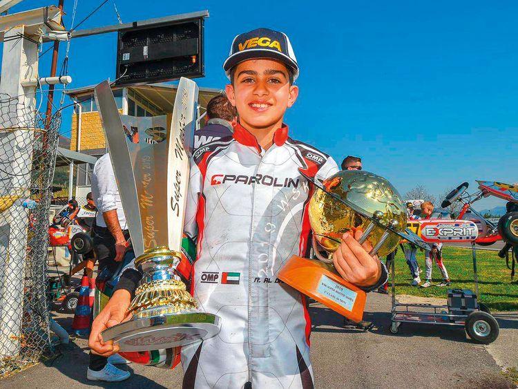UAE Karting Star Rashid Al Dhaheri
