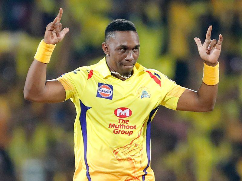 Chennai Super Kings' Dwayne Bravo