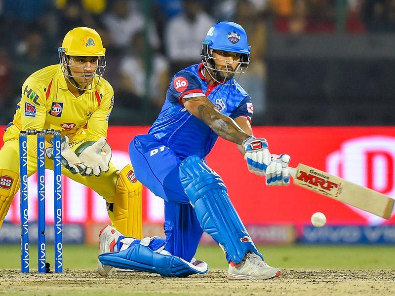 Delhi batsman Shikhar Dhawan