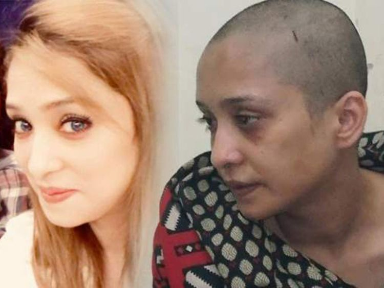 With you head picture shaved woman share