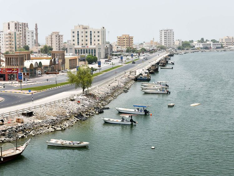 RAS AL KHAIMAH skyline