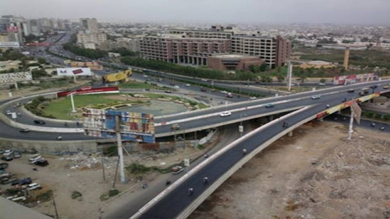 A road interchange in Karachi -09