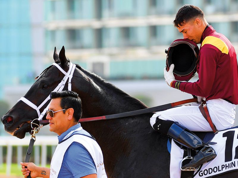 Jockey Jose Ortiz