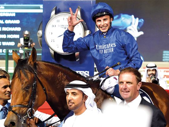 William Buick showing