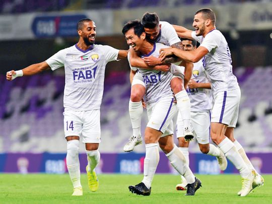 Al Ain beat Fujairah to keep pressure on Sharjah in AGL
