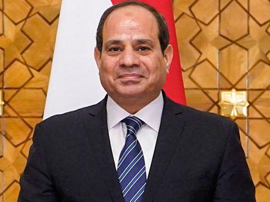 Egypt's President Abdul Fattah Al Sissi