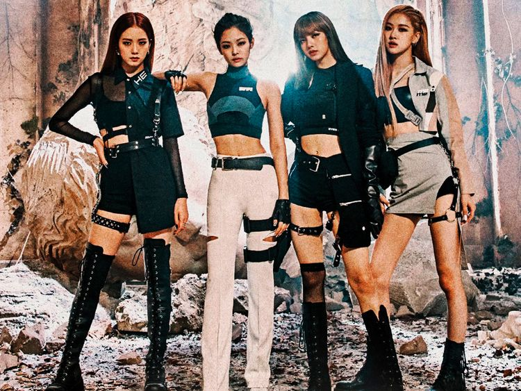 K-Pop girl group BlackPink