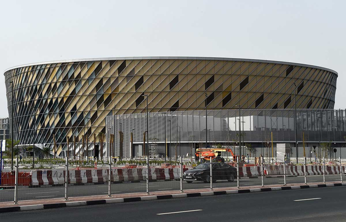 A view of Dubai Arena in City Walk Dubai 01