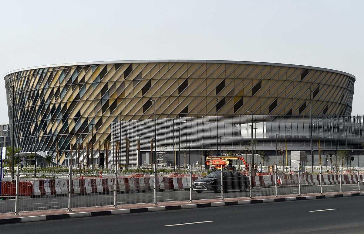 A view of Dubai Arena in City Walk Dubai 01