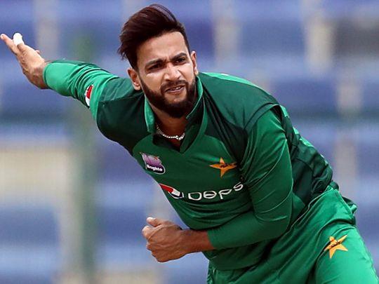 Pakistani cricketer Imad Wasim