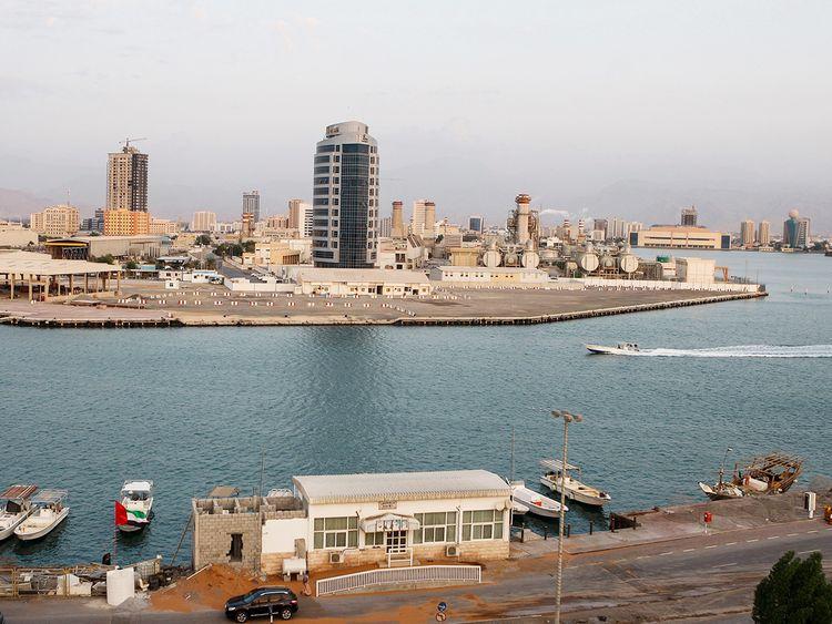 Ras Al Khaimah city skyline