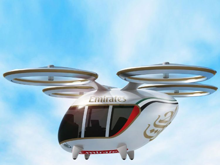 Emirates To Offer Chauffeur Less Drones With Fully