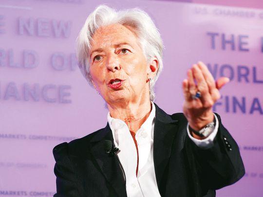 IMF chief Lagarde