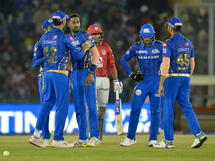 Mumbai Indians bowler Krunal Pandya