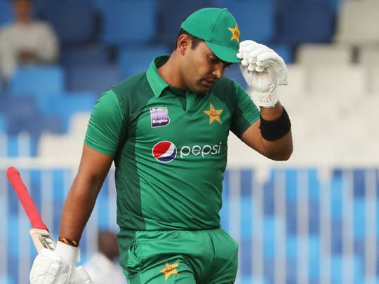 Pakistani cricketer Umar Akmal