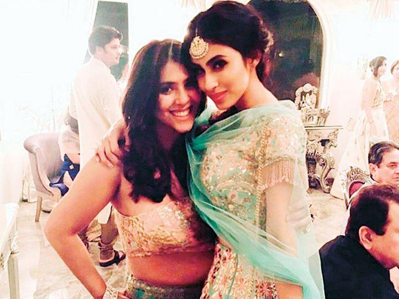 Roy with her mentor Ekta Kapoor.