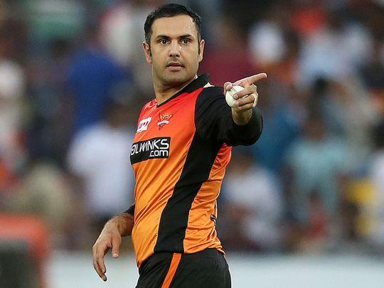 Sunrisers Hyderabad's bowler Mohammad Nabi