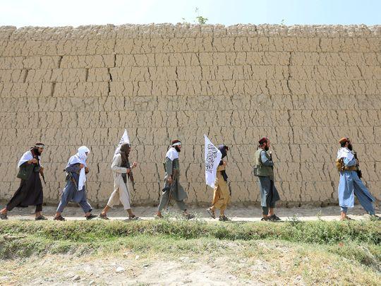 Taliban men