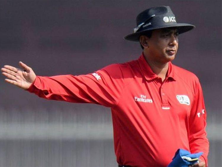 Umpire Sundaram Ravi