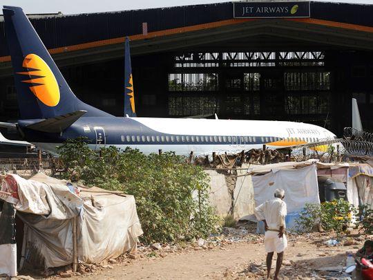 A Jet Airways aircraft