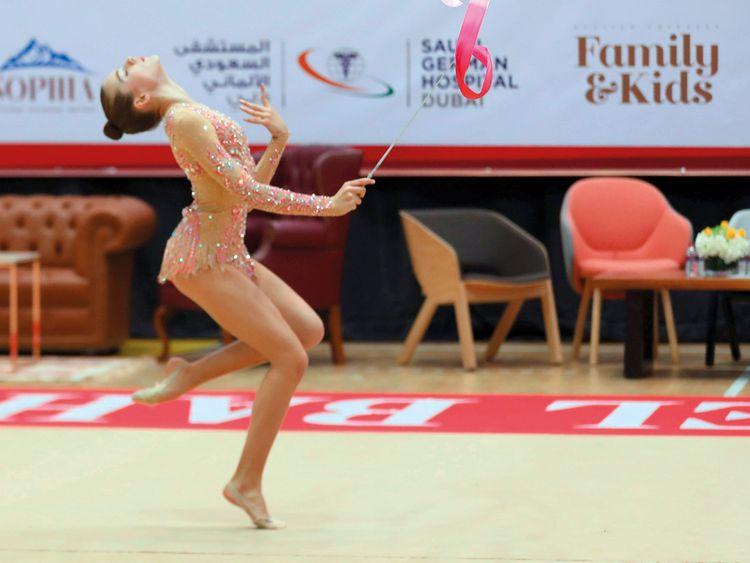 Rhythmic Gymnastics Cup in Dubai this weekend