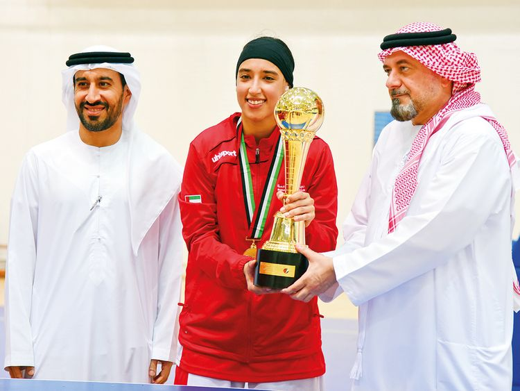 The Sharjah Women's Sports Club team