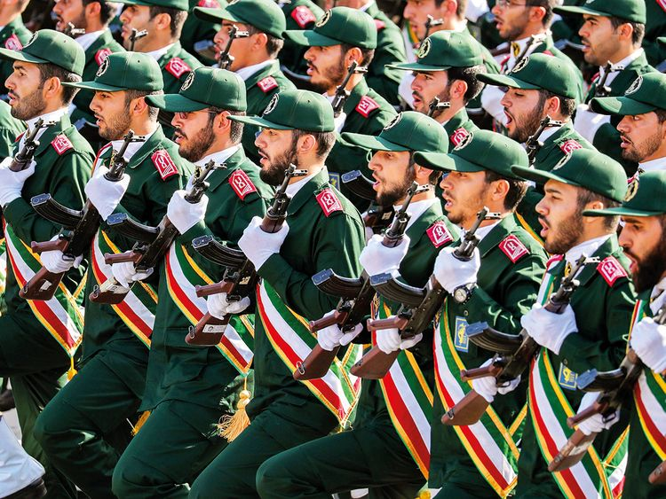 Iran's Revolutionary Guards Corps
