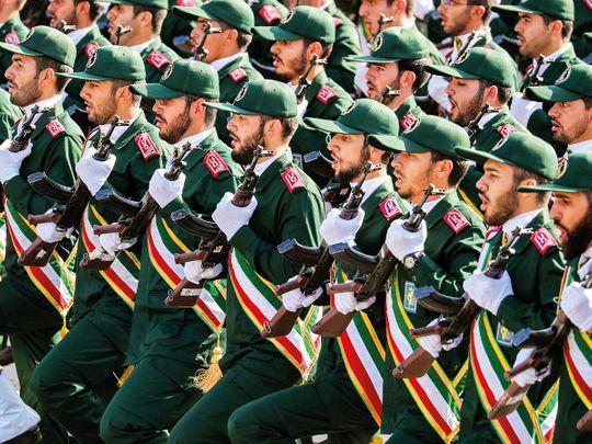Iran's Revolutionary Guards Corps