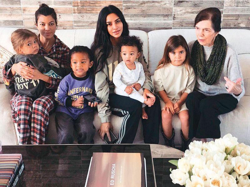 Some of the Kardashian grandchildren.