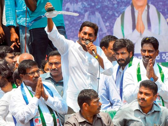 YSR Congress President Jaganmohan Reddy