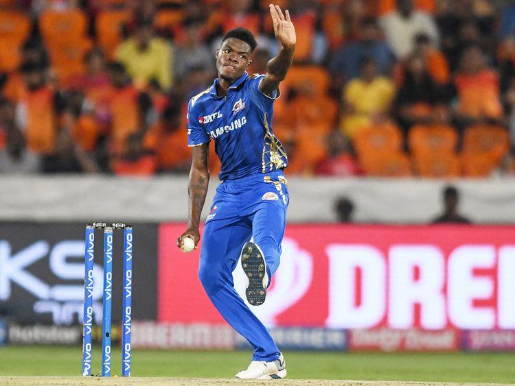 Mumbai Indians cricketer Alzarri Joseph