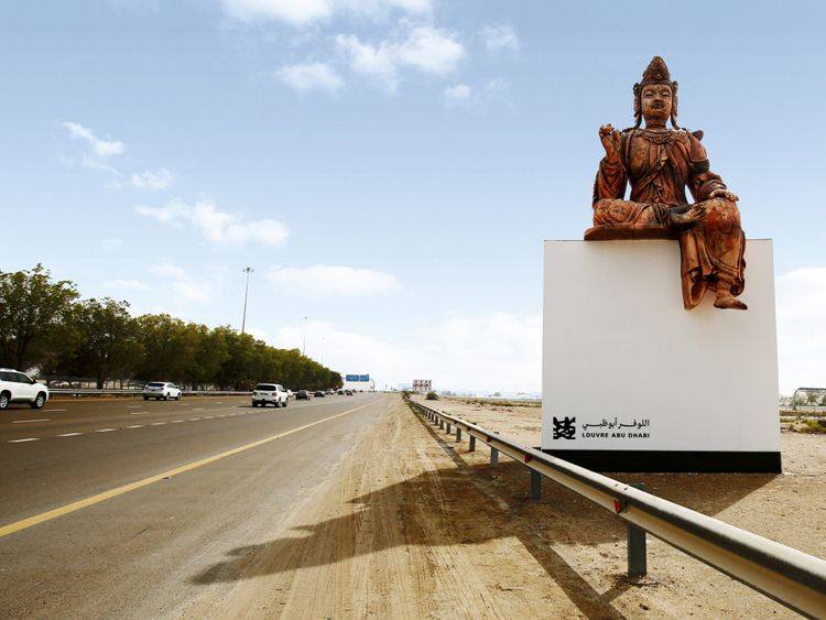 TAB-190407-WWW-Reproduction-of-Louvre-Abu-Dhabi-s-Guanyin-for-Louvre-Abu-Dhabi-s-Highway-Gallery-1554621363477