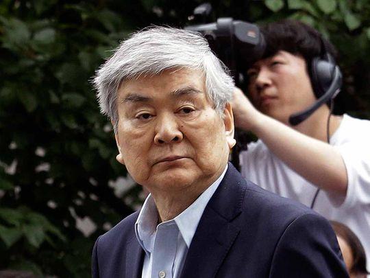 Cho Yang-ho, the chairman of Korean Air Lines 20190408