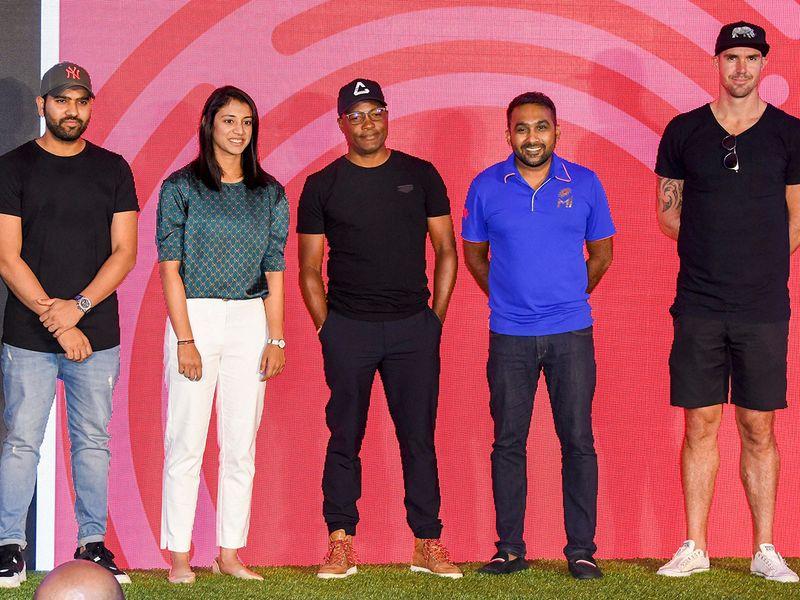 Cricketers Rohit Sharma, Smriti Mandhana, Brian Lara