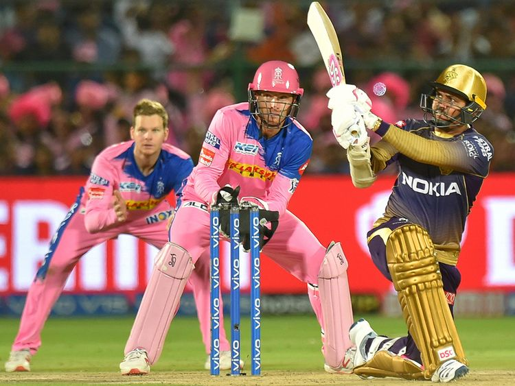 KKR batsmen Sunil Narine