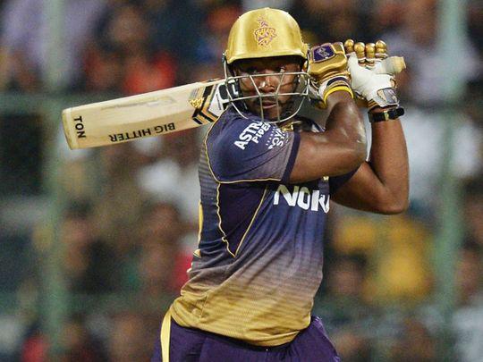 Kolkata Knight Riders batsman Andre Russell
