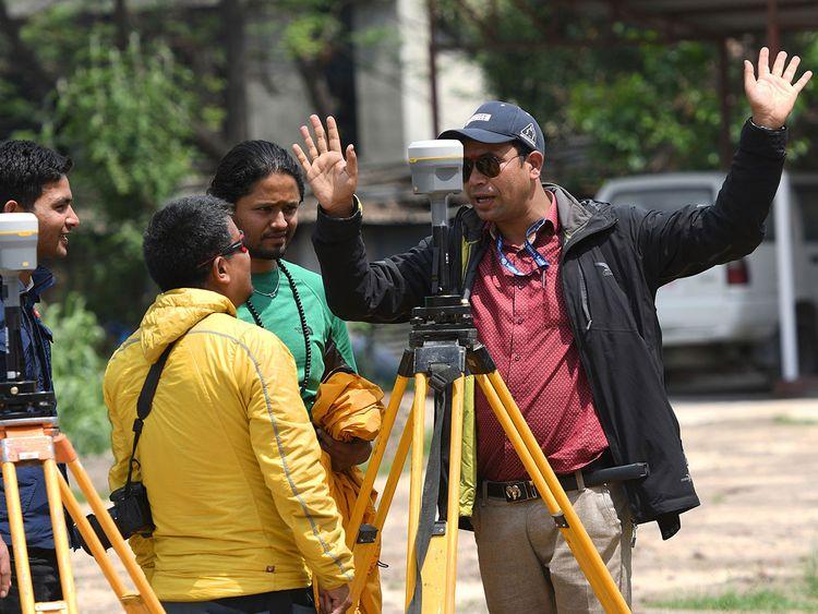 Nepali survey chief